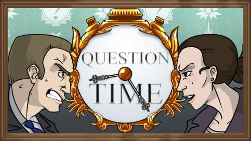 Question Time from GovHack 2015 –– art by Rex Smeal