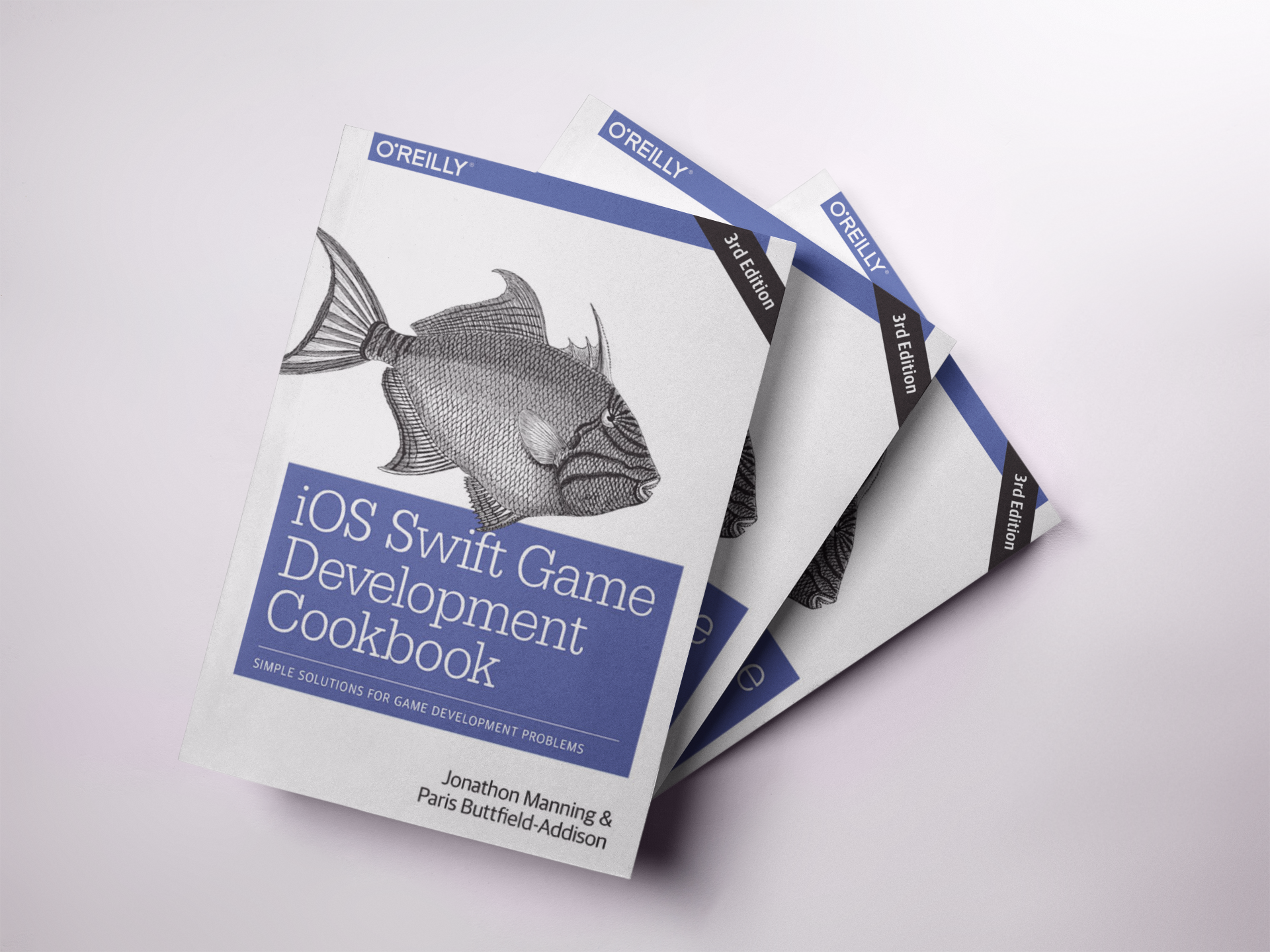 Our latest book is the iOS Swift Game Development Cookbook